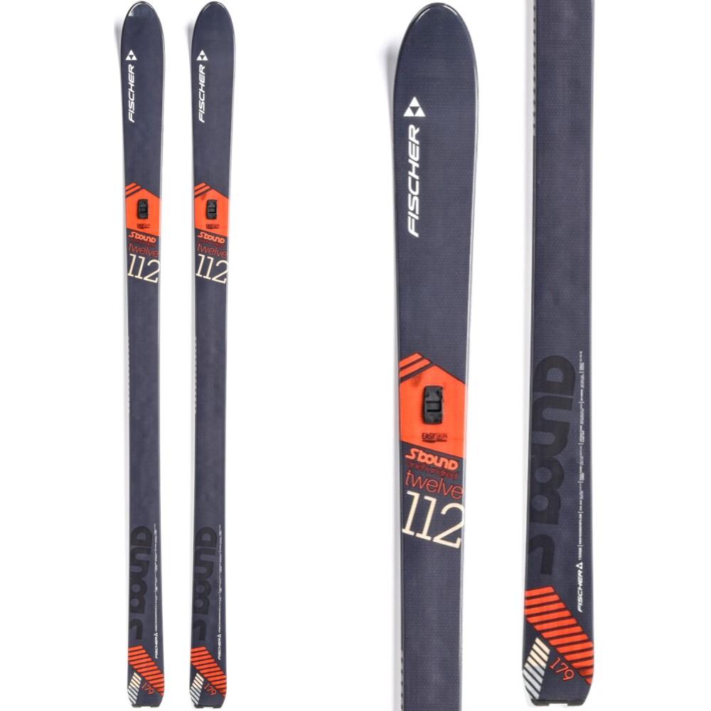 フィッシャー ユニセックス スキー・スノーボード ボード・板【S-Bound 112 Crown XC Skis 2018】