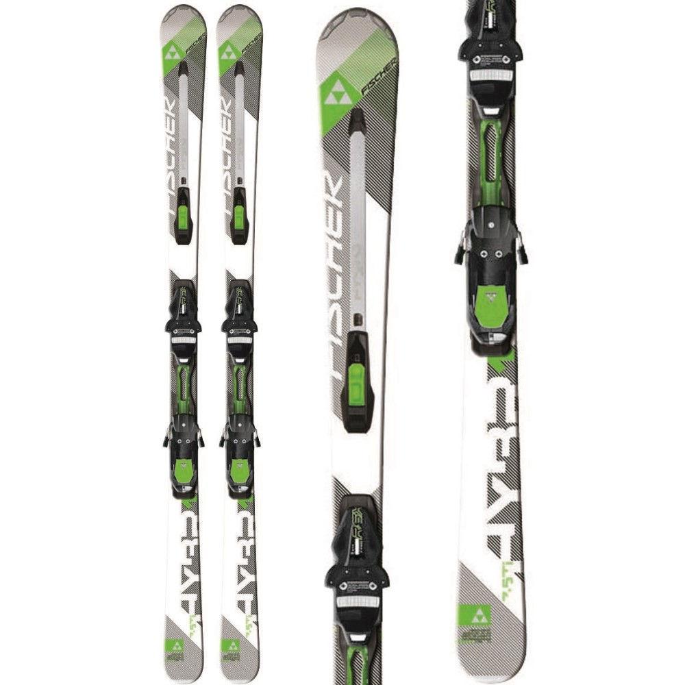 フィッシャー ユニセックス スキー・スノーボード ビンディング【Hybrid 7.5 TI Powerrail Skis w/ RSX 12 Powerrail Bindings】