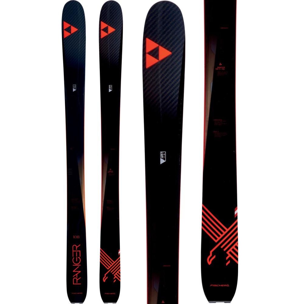 フィッシャー ユニセックス スキー・スノーボード ボード・板【Ranger 108 Ti Skis 2018】