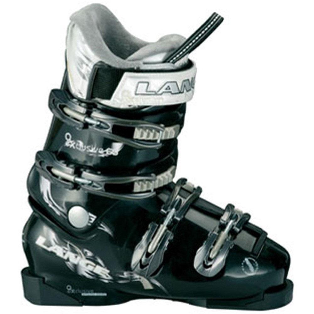 ランジェ レディース スキー・スノーボード シューズ・靴【Exclusive 60 Ski Boots】Black