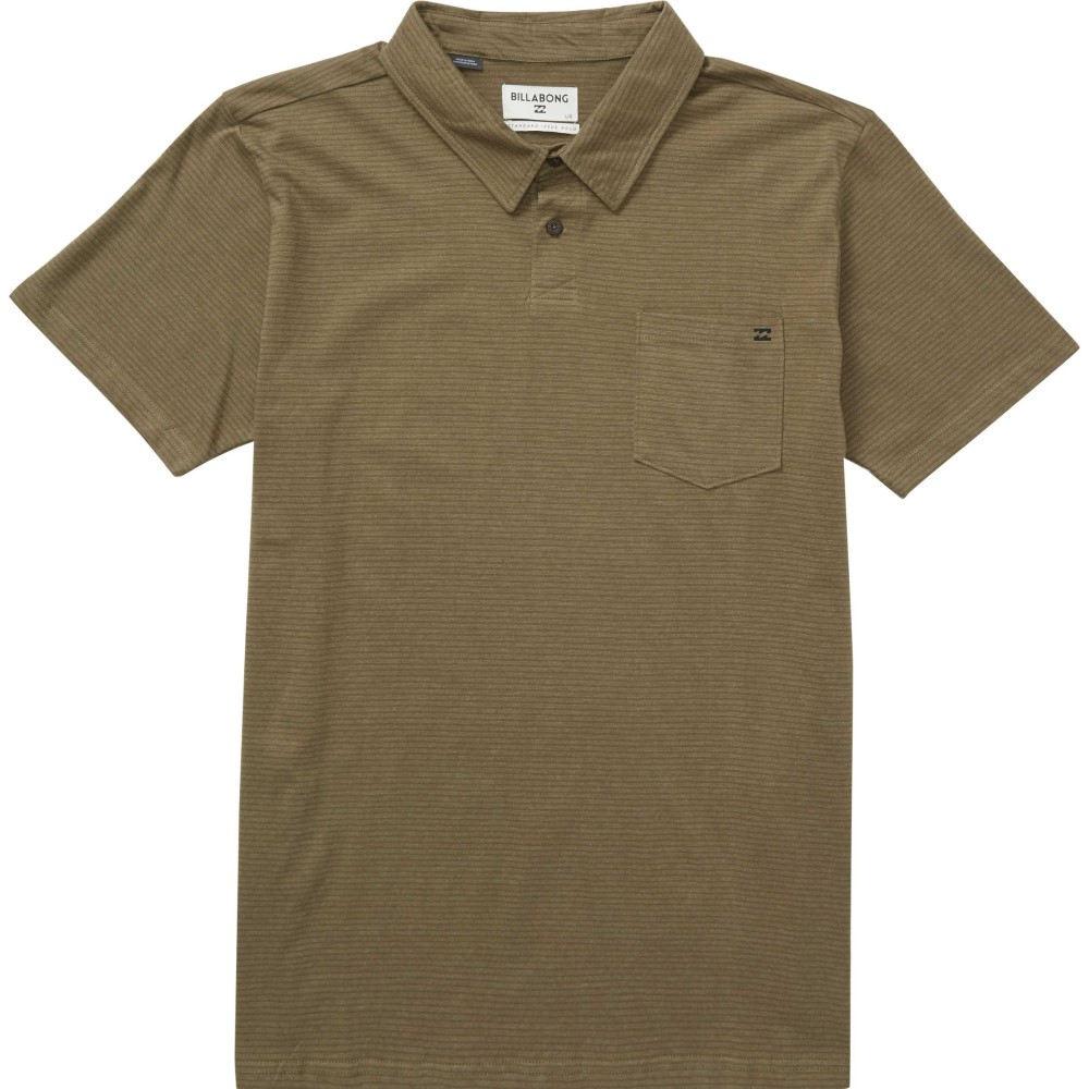 ビラボン メンズ トップス ポロシャツ【Standard Issue Polo】Military