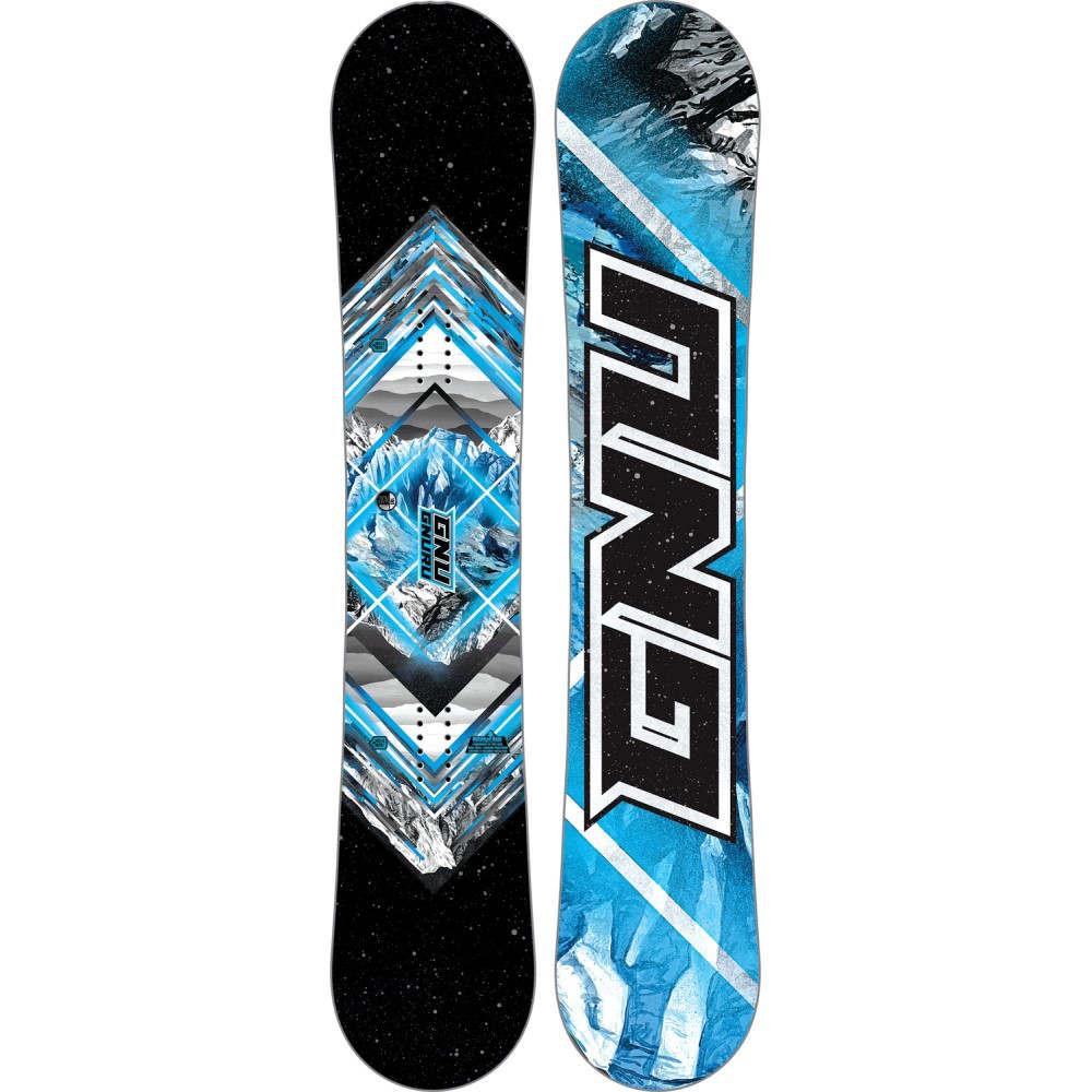 グヌ ユニセックス スキー・スノーボード ボード・板【Gnuru Asym Blem Snowboard 2018】