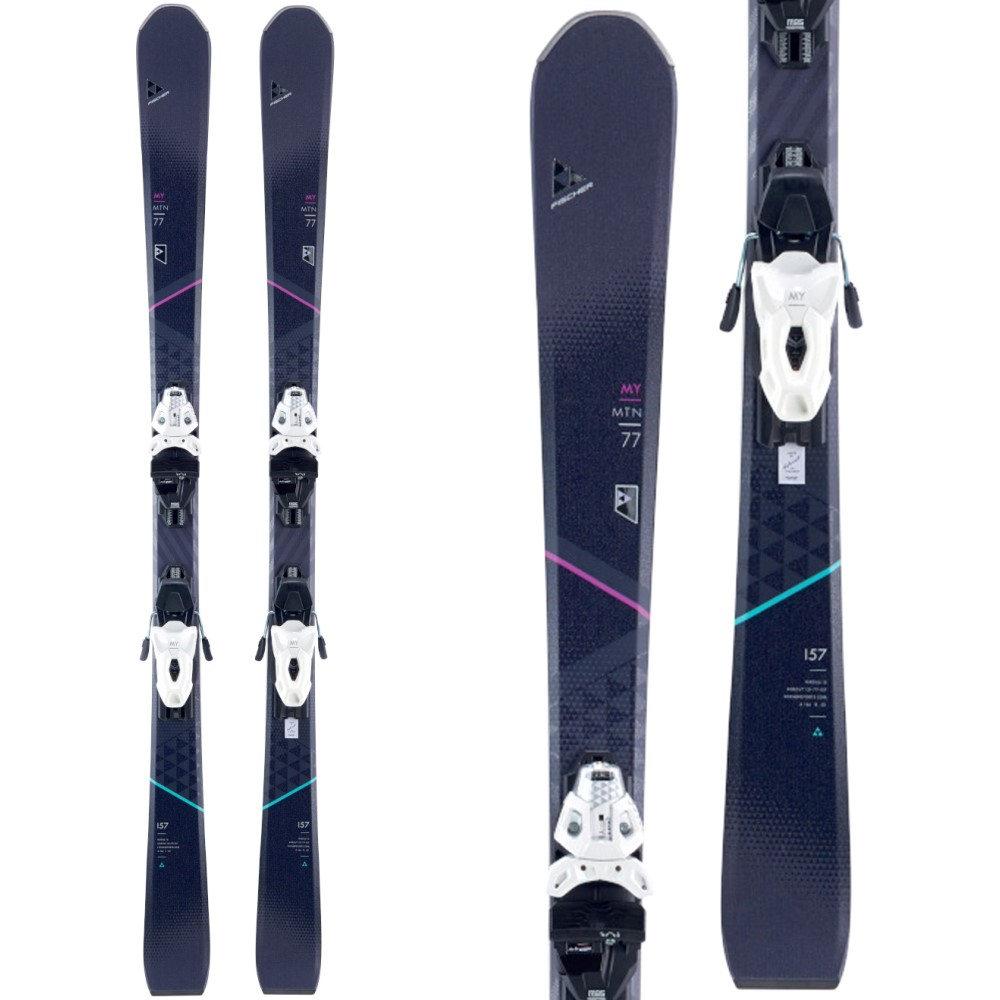 【超目玉】 フィッシャー Bindings】White/ レディース スキー・スノーボード ビンディング My【Brilliant My 10 MTN Skis w/ My MBS 10 Powerrail Bindings】White/ Black, なごみ工房:7982f36d --- canoncity.azurewebsites.net