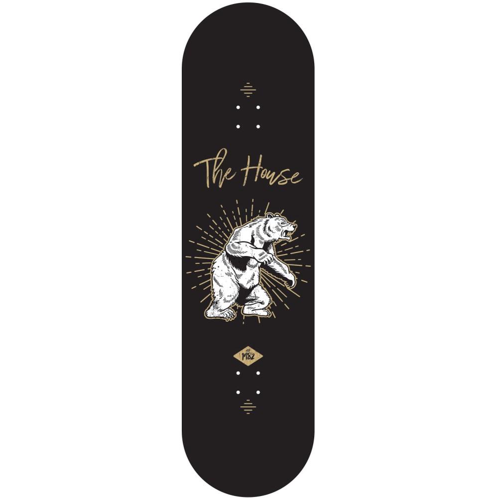 ハウス ユニセックス スケートボード ボード・板【Bear Skateboard Deck】