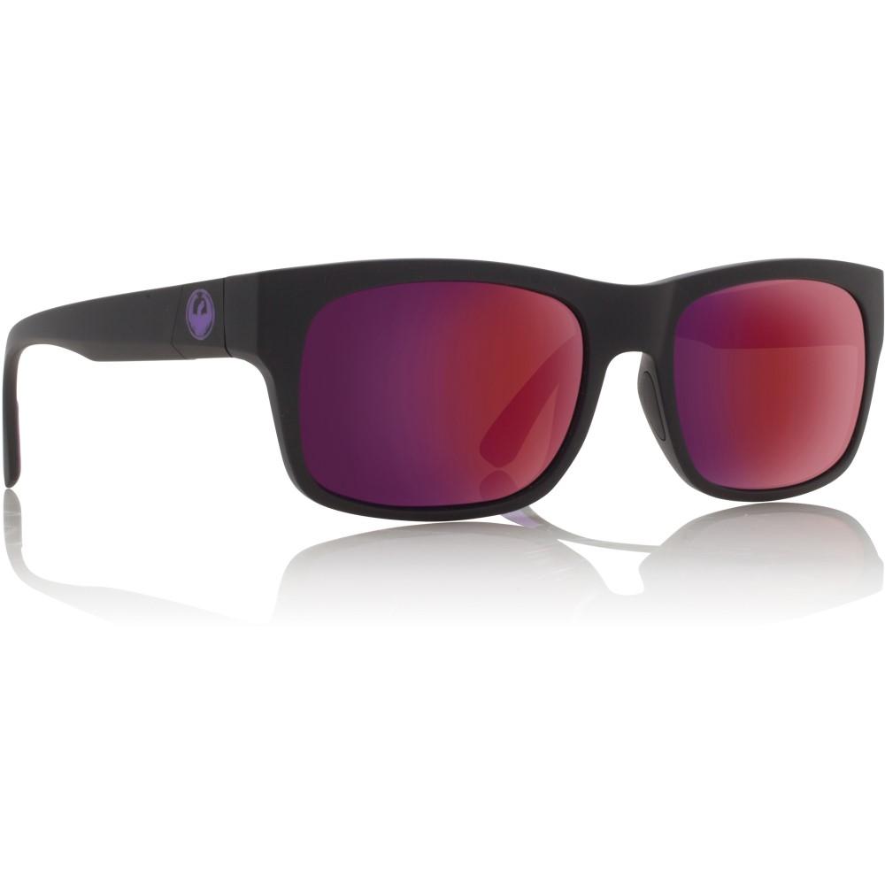 ドラゴン メンズ メガネ・サングラス【Tailback Sunglasses】Matte Black H2 O/ Plasma Ion Performance Polarized Lens