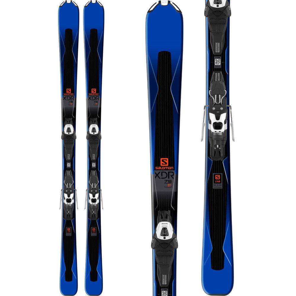 注目の サロモン 2 ユニセックス スキー・スノーボード 2018】Blue/ ビンディング【XDR 75 Skis w Bindings/ Easytrak 2 Lithium 10 Bindings 2018】Blue/ Black, 五色町:df09b20a --- canoncity.azurewebsites.net
