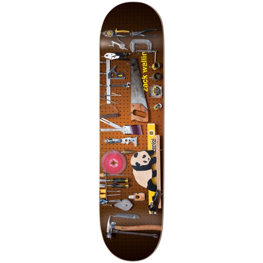 エンジョイ ユニセックス スケートボード ボード・板【Wallin Premium Panda Slick Skateboard Deck】Zack Wallin