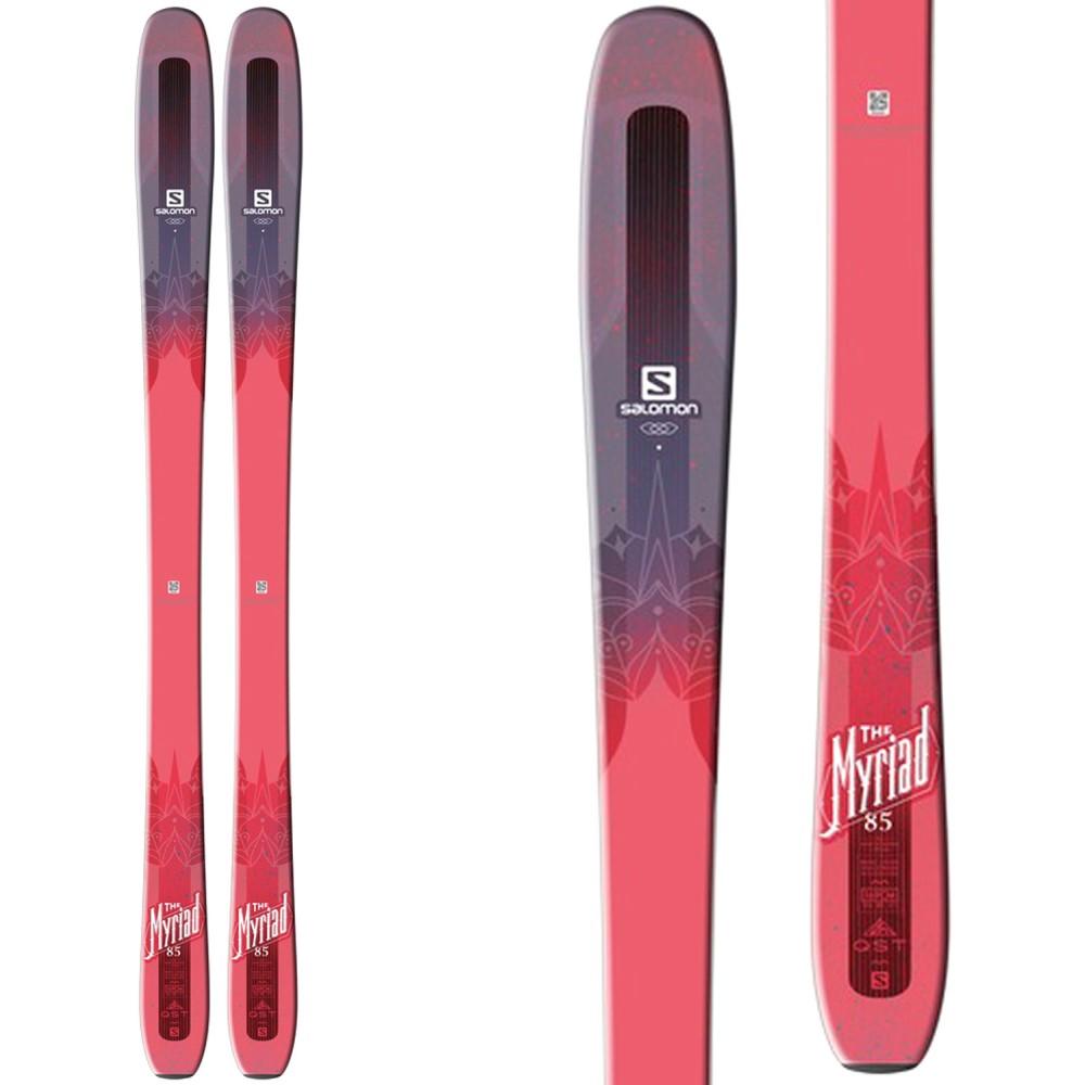 サロモン レディース スキー・スノーボード ボード・板【QST Myriad 85 Skis】Pink/ Purple