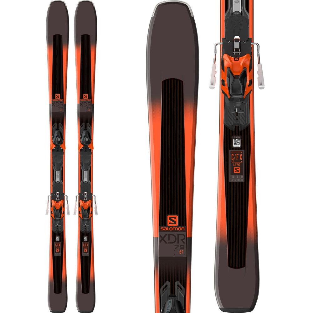 正規激安 サロモン ユニセックス スキー・スノーボード ビンディング【XDR 2018】Black/ 79 Orange CF Skis Skis w/ XT10 Bindings 2018】Black/ Orange, ゴルフギフト専門店ホールインワン:8c1ef5de --- canoncity.azurewebsites.net