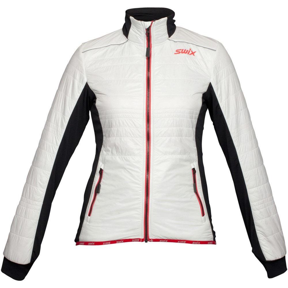 スウィックス レディース スキー・スノーボード アウター【Menali 2 Quilted XC Ski Jacket】White