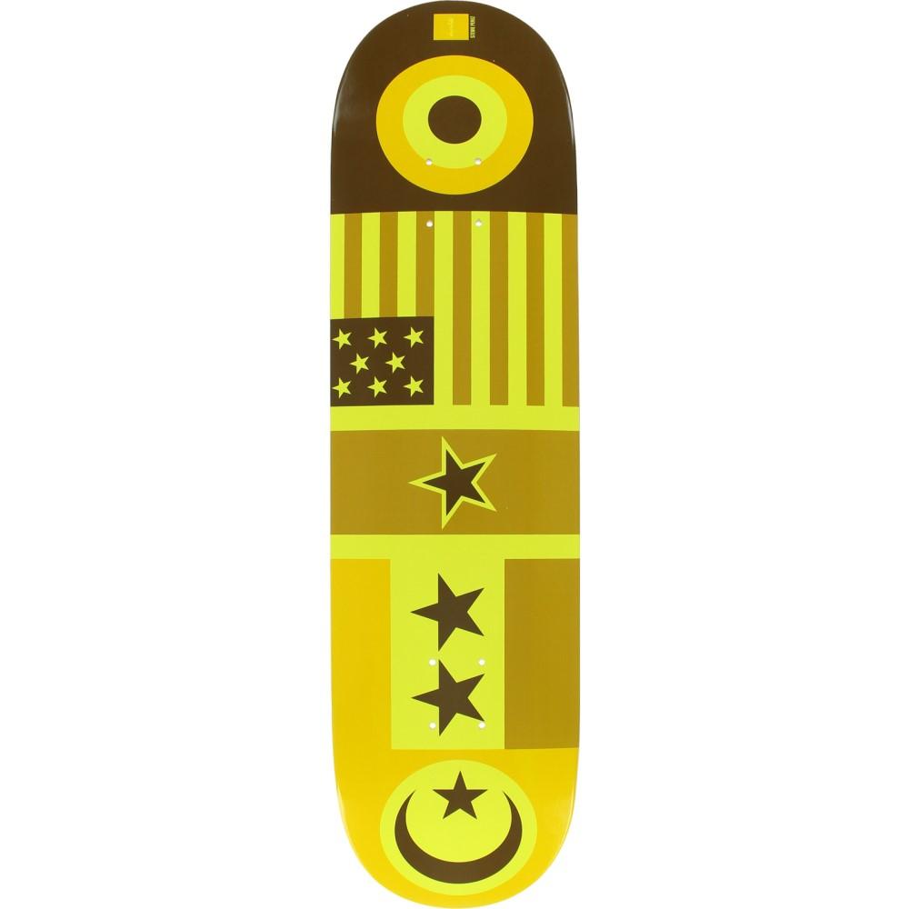 チョコレート ユニセックス スケートボード ボード・板【Perez Flags Skateboard Deck】