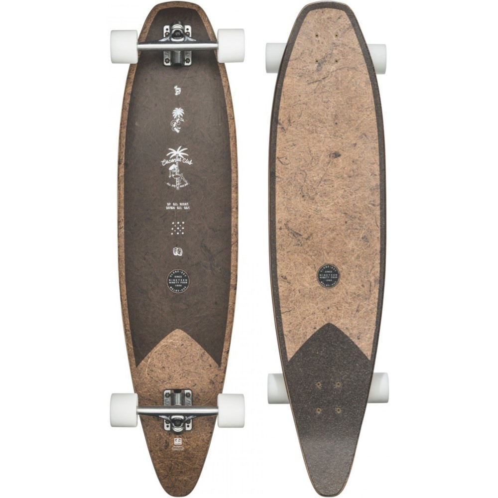 グローブ ユニセックス スケートボード ボード・板【Pinner Evo Longboard Complete】Coconut/ Black