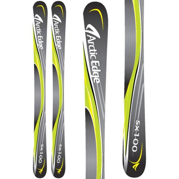 アークティックエッジ ユニセックス スキー・スノーボード ボード・板【SX100 SB Twin Camrock Skis】