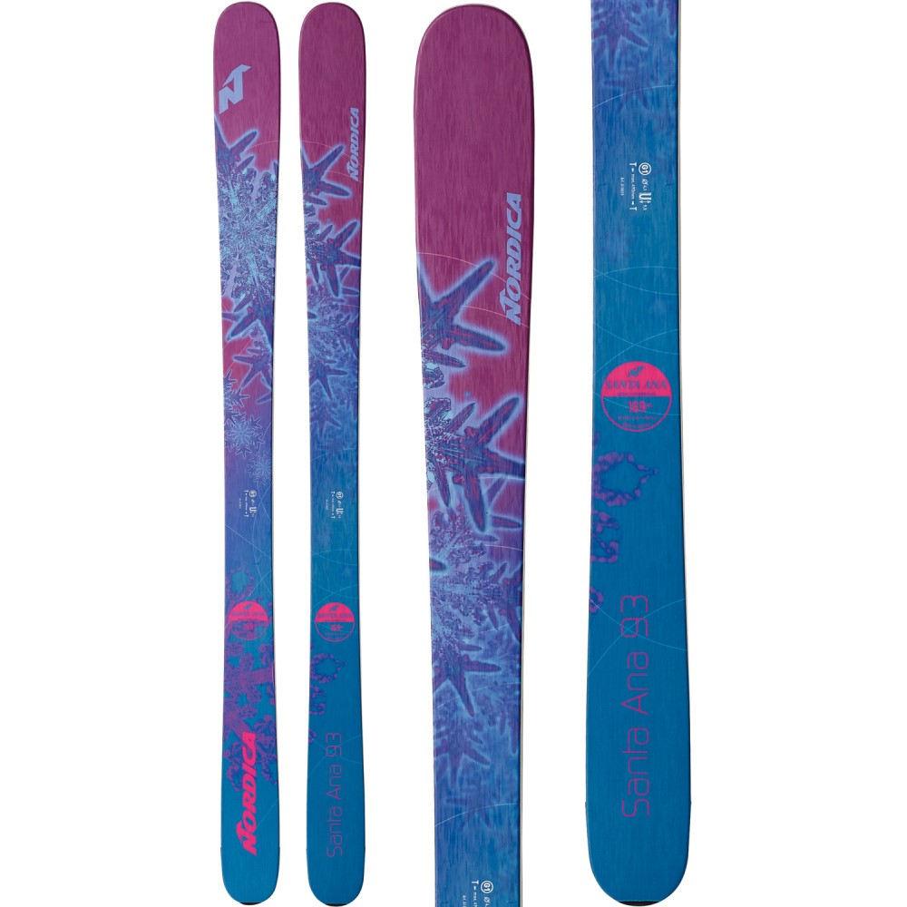 ノルディカ レディース スキー・スノーボード ボード・板【Santa Ana 93 Skis】Purple/ Turquoise