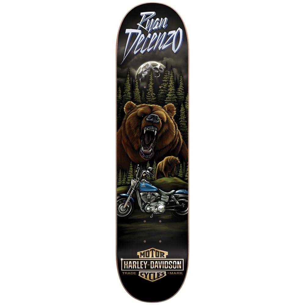 ダークスター ユニセックス スケートボード ボード・板【Harley Davidson Pro Decenzo Vintage Skateboard Deck】Ryan Decenzo