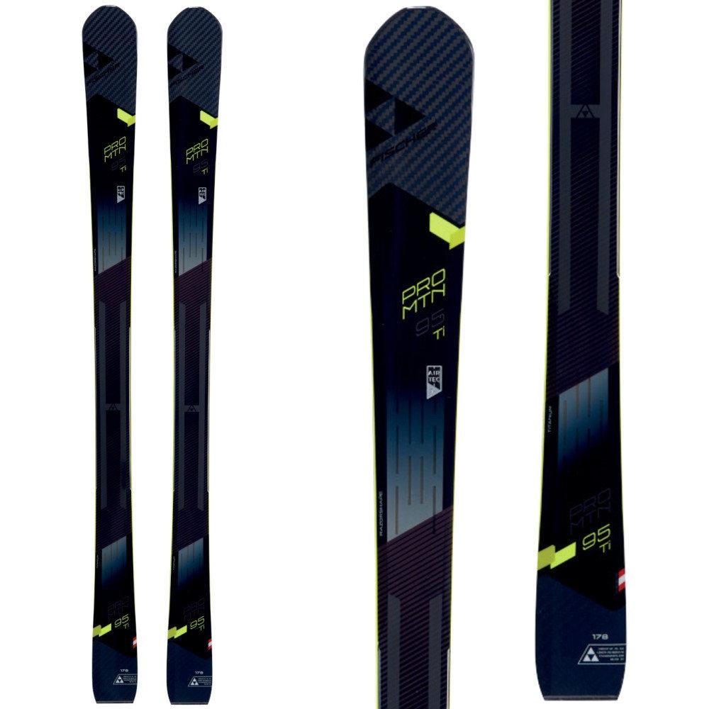 フィッシャー ユニセックス スキー・スノーボード ボード・板【Pro MTN 95 TI Skis 2018】