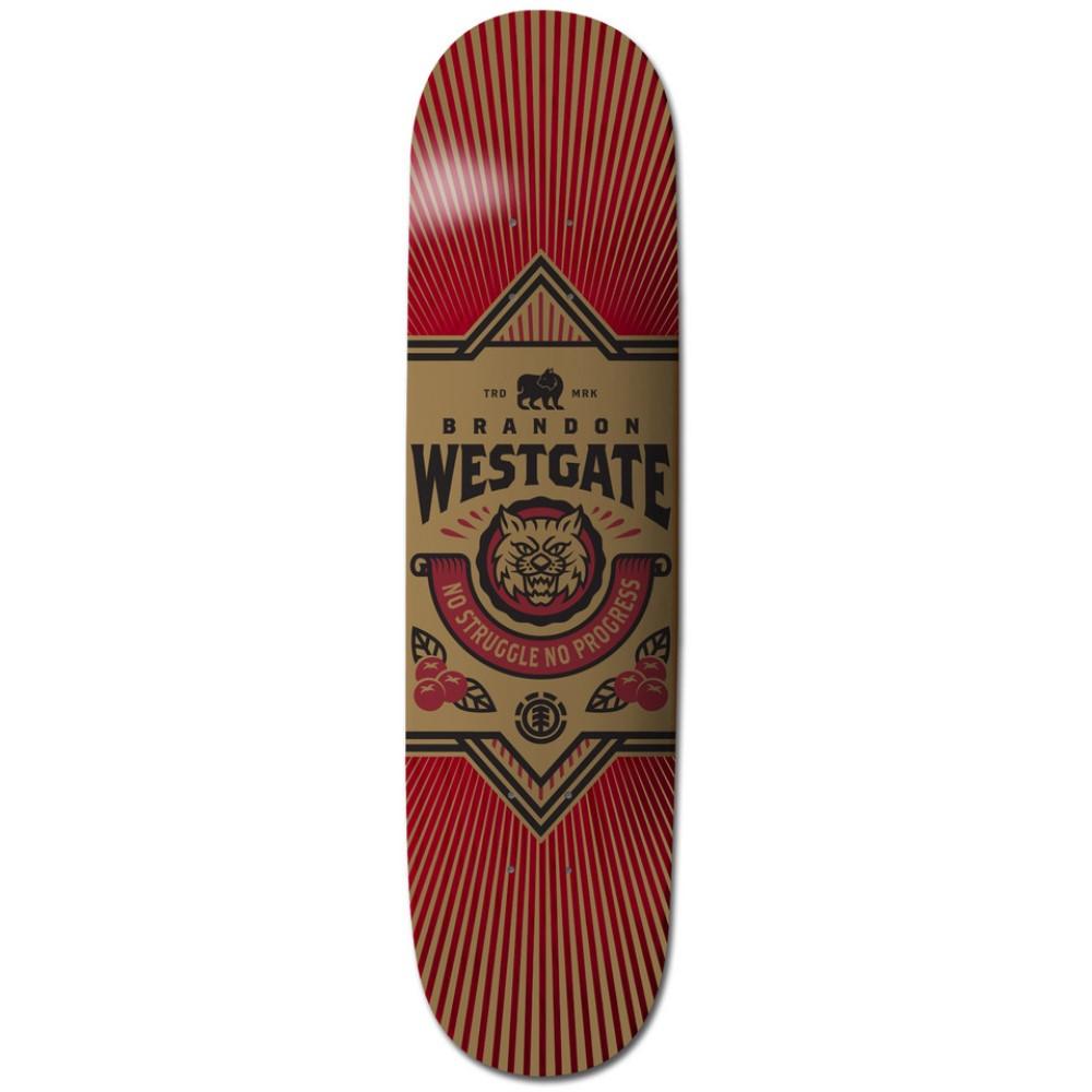 エレメント ユニセックス スケートボード ボード・板【Westgate Emblem Skateboard Deck】