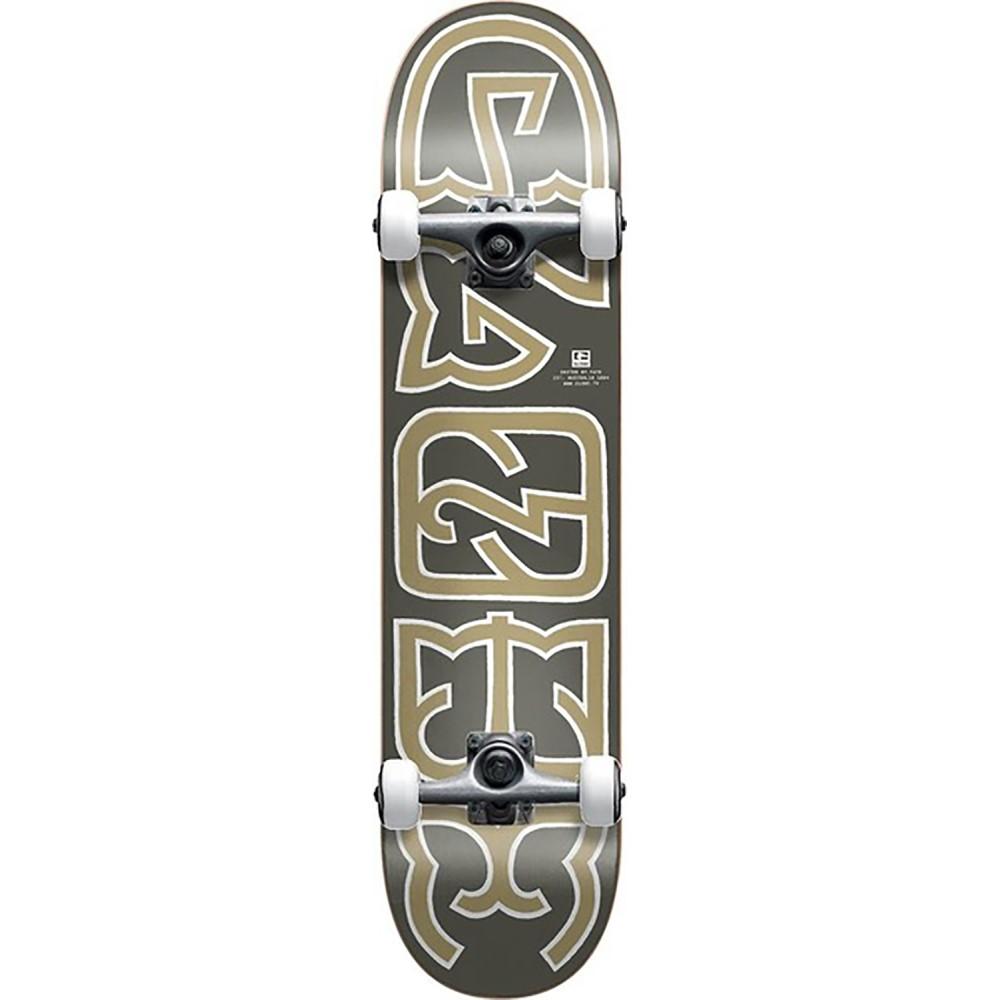 グローブ ユニセックス スケートボード ボード・板【Heyman Mid Cruiser Complete】Black/ Gold