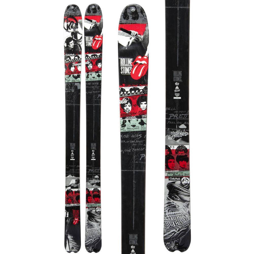 ケーツー K2 メンズ スキー・スノーボード ボード・板【Sidestash RS2 50th Anniversary Rolling Stones Skis】