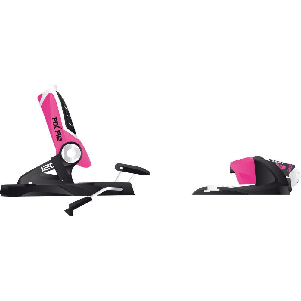 ロシニョール Rossignol レディース スキー・スノーボード ビンディング【Axial3 Dual WTR 120 Ski Bindings】Black/Pink