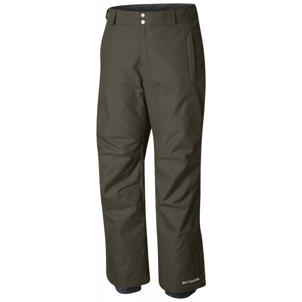 コロンビア Columbia メンズ スキー・スノーボード ボトムス・パンツ【Bugaboo II Extended Size Ski Pants 2019】Peatmoss