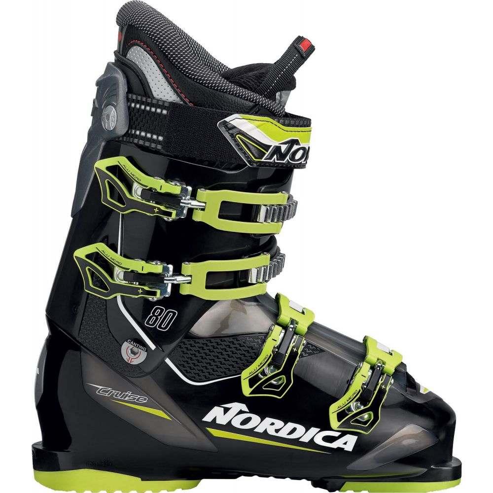 ノルディカ Nordica メンズ スキー・スノーボード シューズ・靴【Cruise 80 Ski Boots】Black/Lime