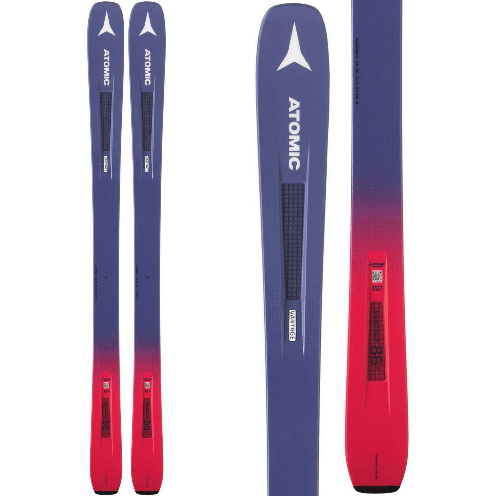 アトミック Atomic レディース スキー・スノーボード ボード・板【Vantage 86 C Skis 2019】Grey Blue/Pink