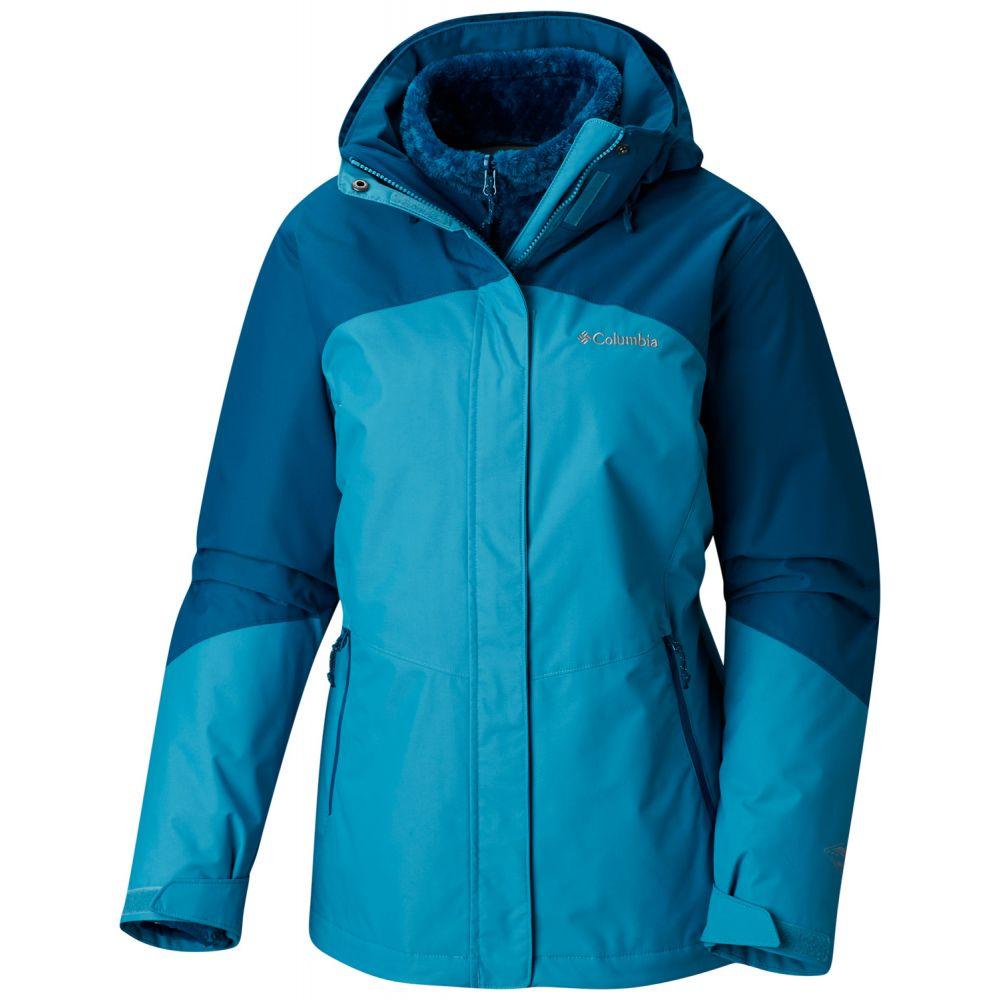 コロンビア Columbia レディース スキー・スノーボード アウター【Bugaboo II Fleece Interchange Extended SZ Ski Jacket 2019】Beta/Lagoon