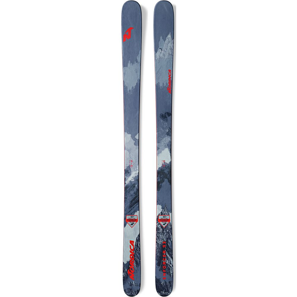 ノルディカ Nordica メンズ スキー・スノーボード ボード・板【Enforcer 93 Skis 2019】Grey/Red