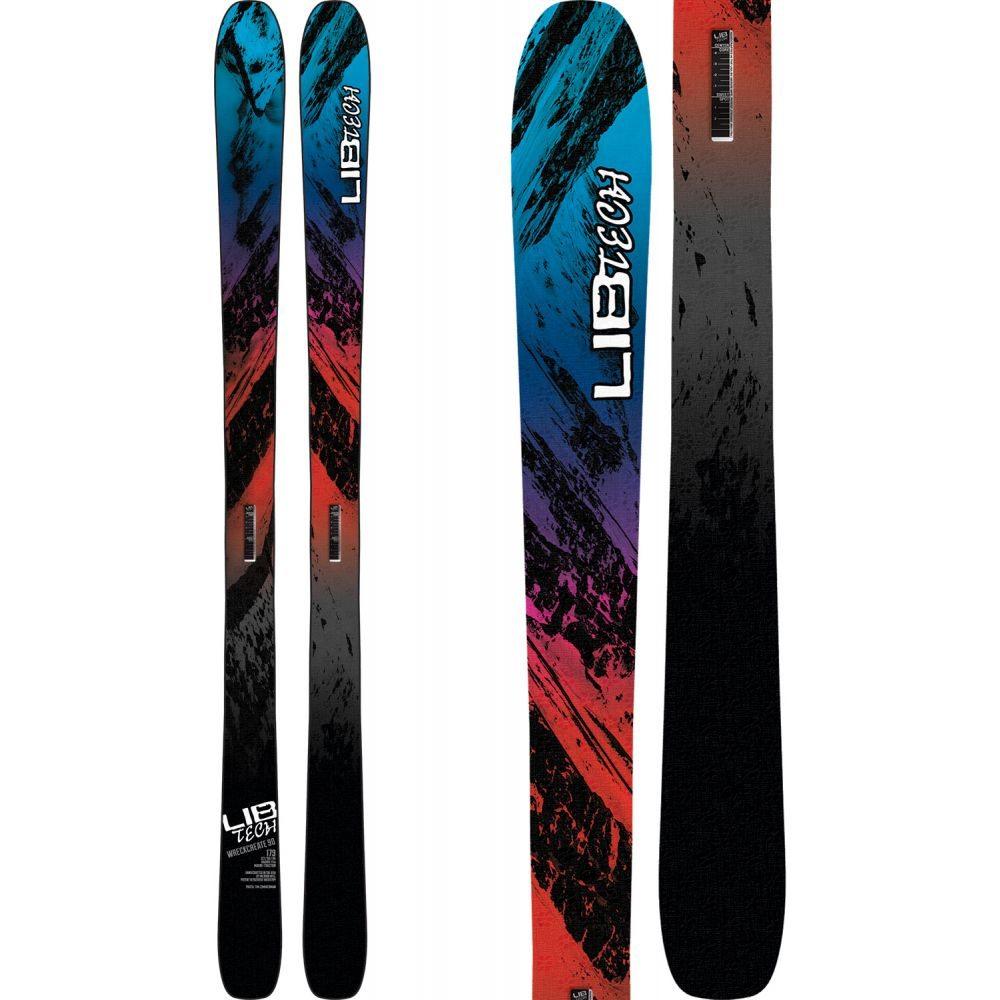 リブテック Lib Tech メンズ スキー・スノーボード ボード・板【Wreckcreate 90 Skis 2019】