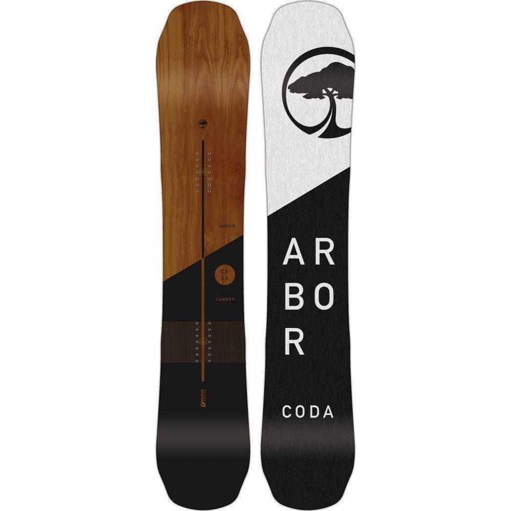 アーバー Arbor メンズ スキー・スノーボード ボード・板【Coda Camber Midwide Snowboard 2019】
