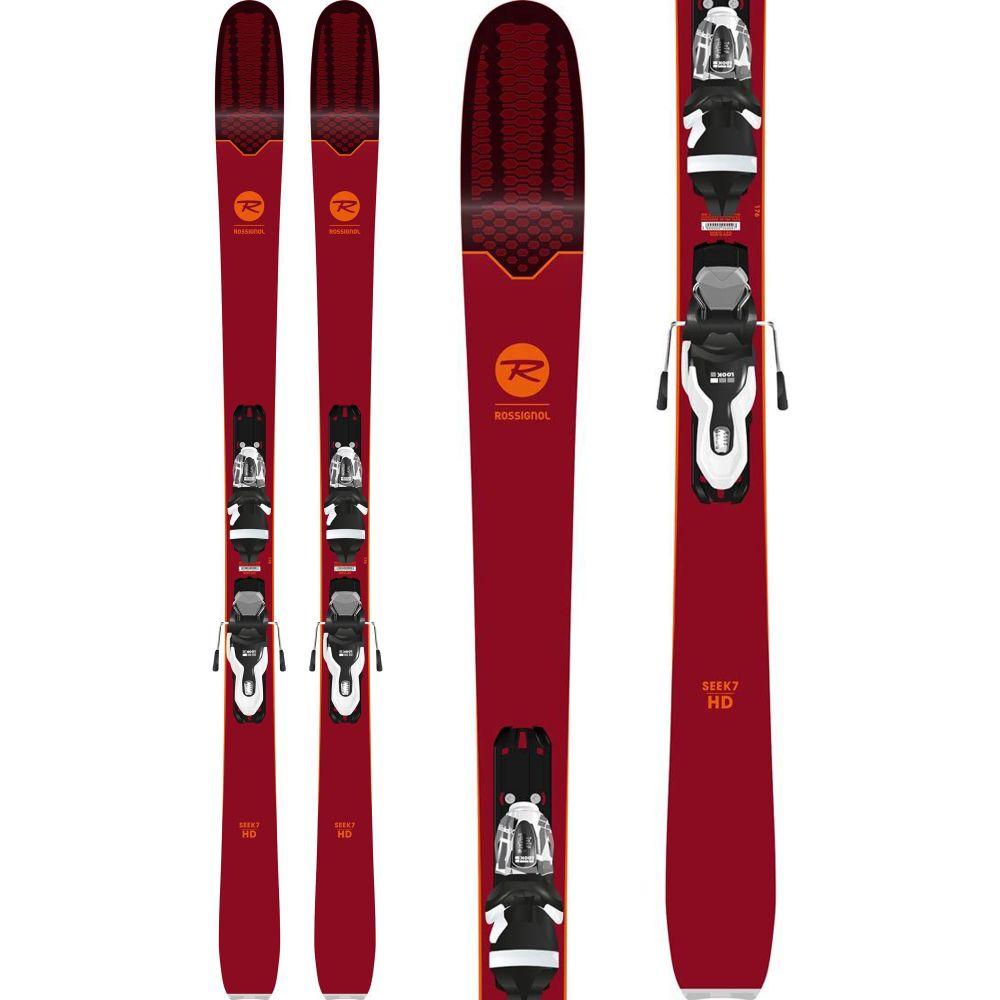 ロシニョール Rossignol メンズ スキー・スノーボード ボード・板【Seek 7 HD Skis w/ Xpress 11 Bindings 2019】Black/White