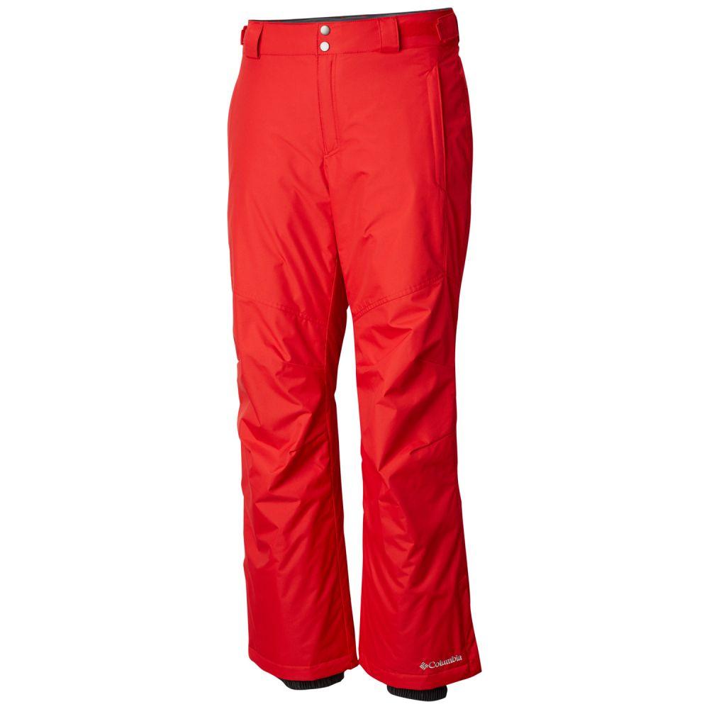 コロンビア Columbia メンズ スキー・スノーボード ボトムス・パンツ【Bugaboo II Extended Size Ski Pants 2019】Red Spark