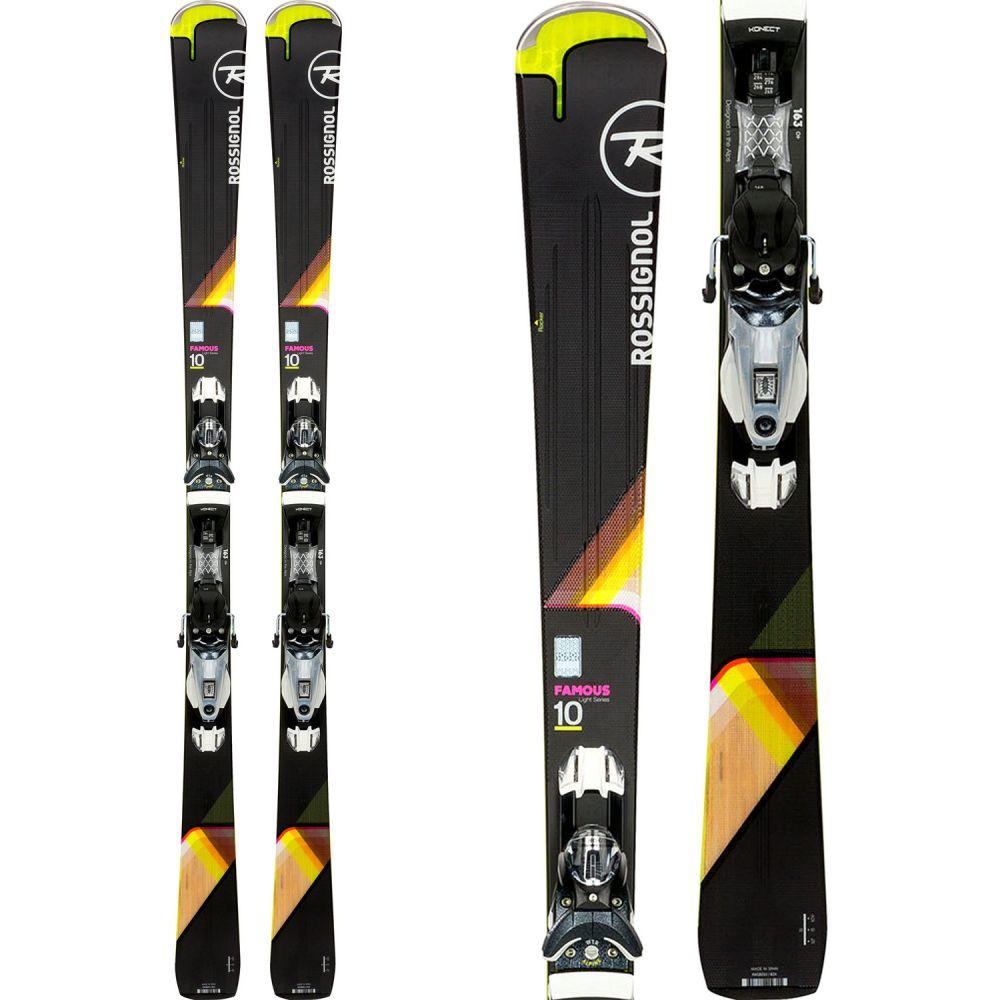 ロシニョール Rossignol レディース スキー・スノーボード ボード・板【Famous 10 Skis w/ Konect NX 12 Dual WTR Bindings】Black/Sparkle
