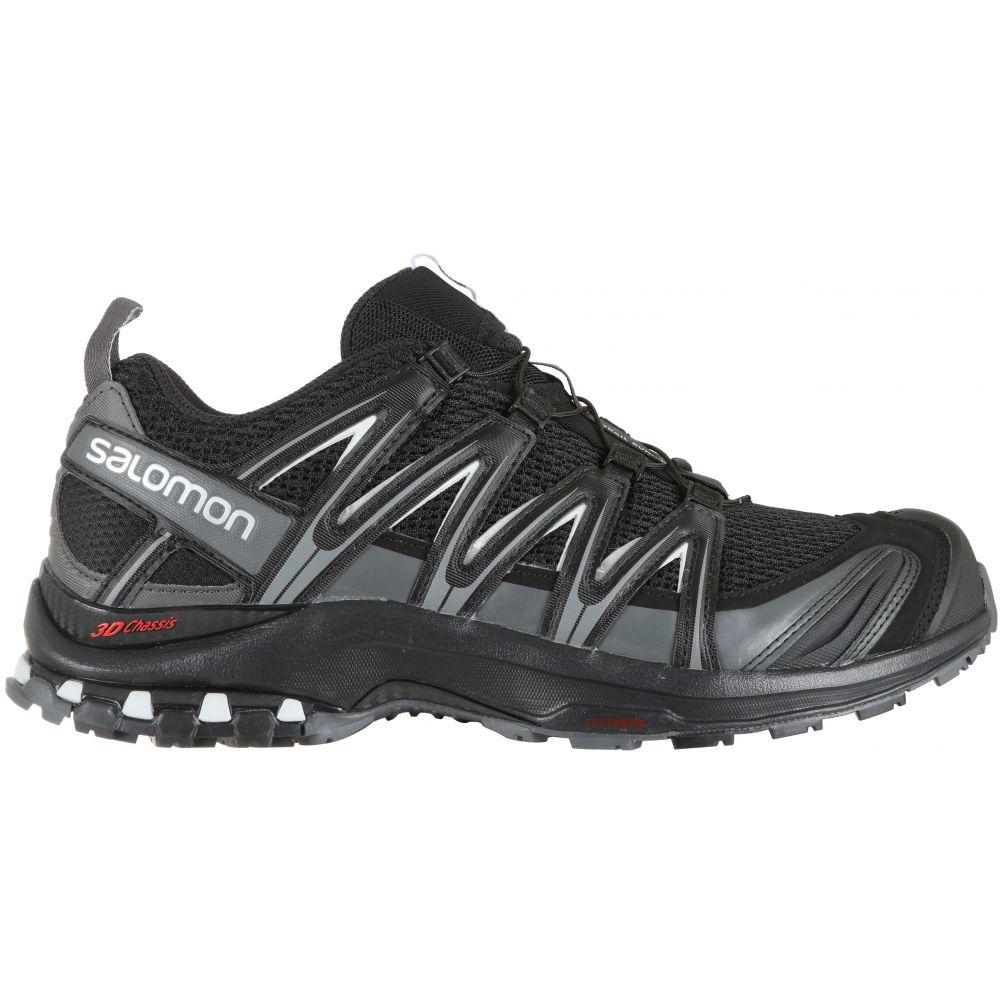 サロモン Salomon メンズ ランニング・ウォーキング シューズ・靴【XA Pro 3D Wide Trail Running Shoes】Black/Magnet/Quiet Shade