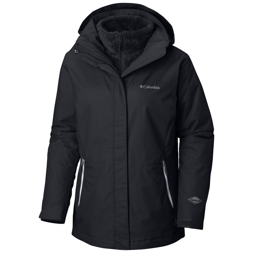 コロンビア Columbia レディース スキー・スノーボード アウター【Bugaboo II Fleece Interchange Extended SZ Ski Jacket 2019】Black
