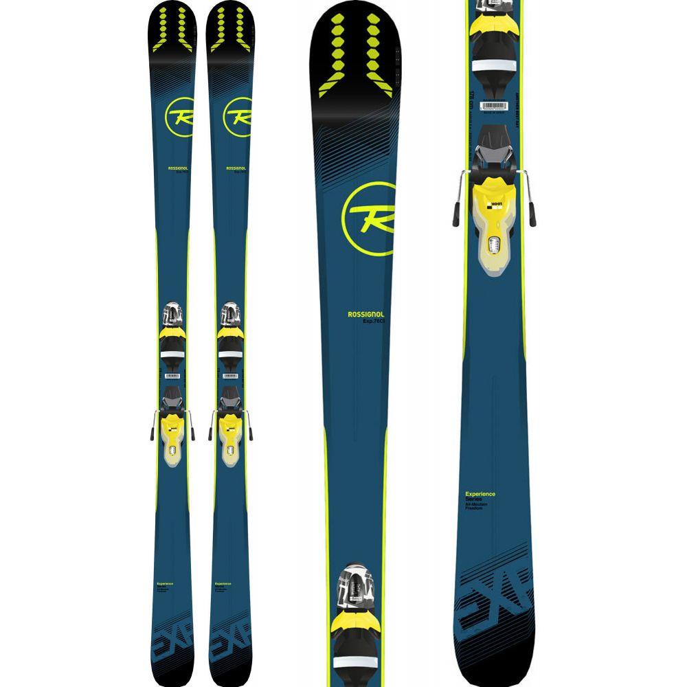 ロシニョール Rossignol メンズ スキー・スノーボード ボード・板【Experience 76 Ci Skis w/ Xpress 11 Bindings 2019】Black/Yellow