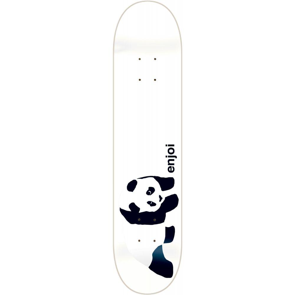 エンジョイ Enjoi メンズ スケートボード ボード・板【Panda Skateboard Deck】White