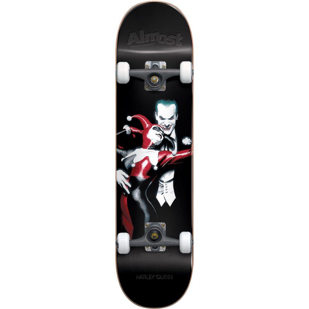 オルモスト Almost メンズ スケートボード ボード・板【Harley Quinn Resin Premium Skateboard Complete】Black, MARUKUMA:6745de65 --- sem-solutions.jp