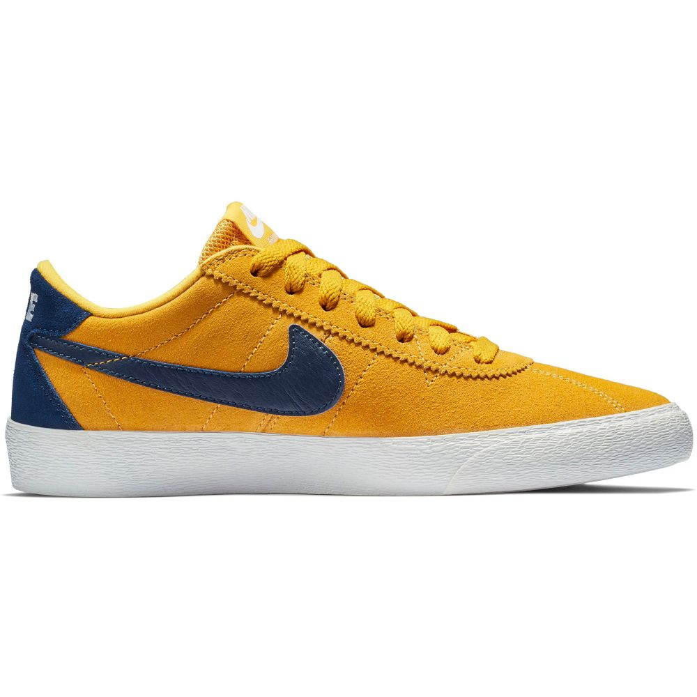 ナイキ Nike レディース スケートボード シューズ・靴【SB Bruin Lo Skate Shoes】Yellow Ochre/Blue Void/White