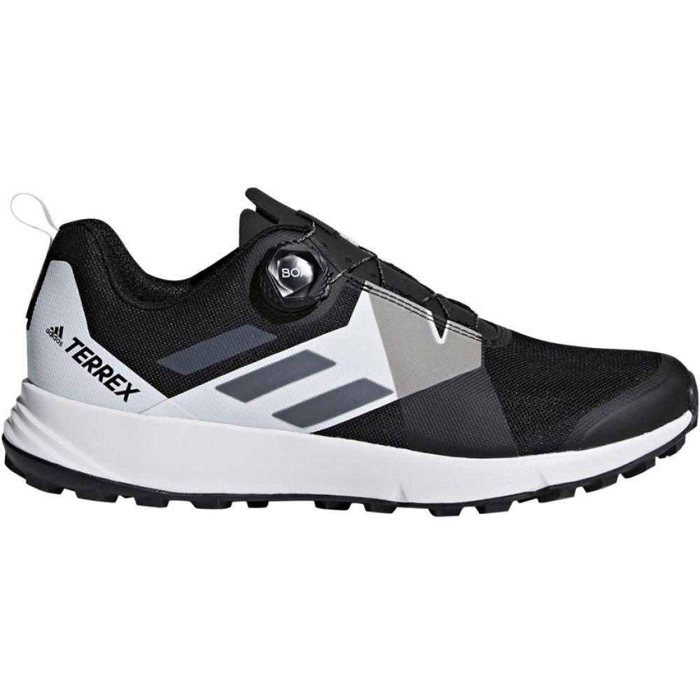 アディダス Adidas メンズ ランニング・ウォーキング シューズ・靴【Terrex Two BOA Trail Running Shoes】Black/Translucent/White