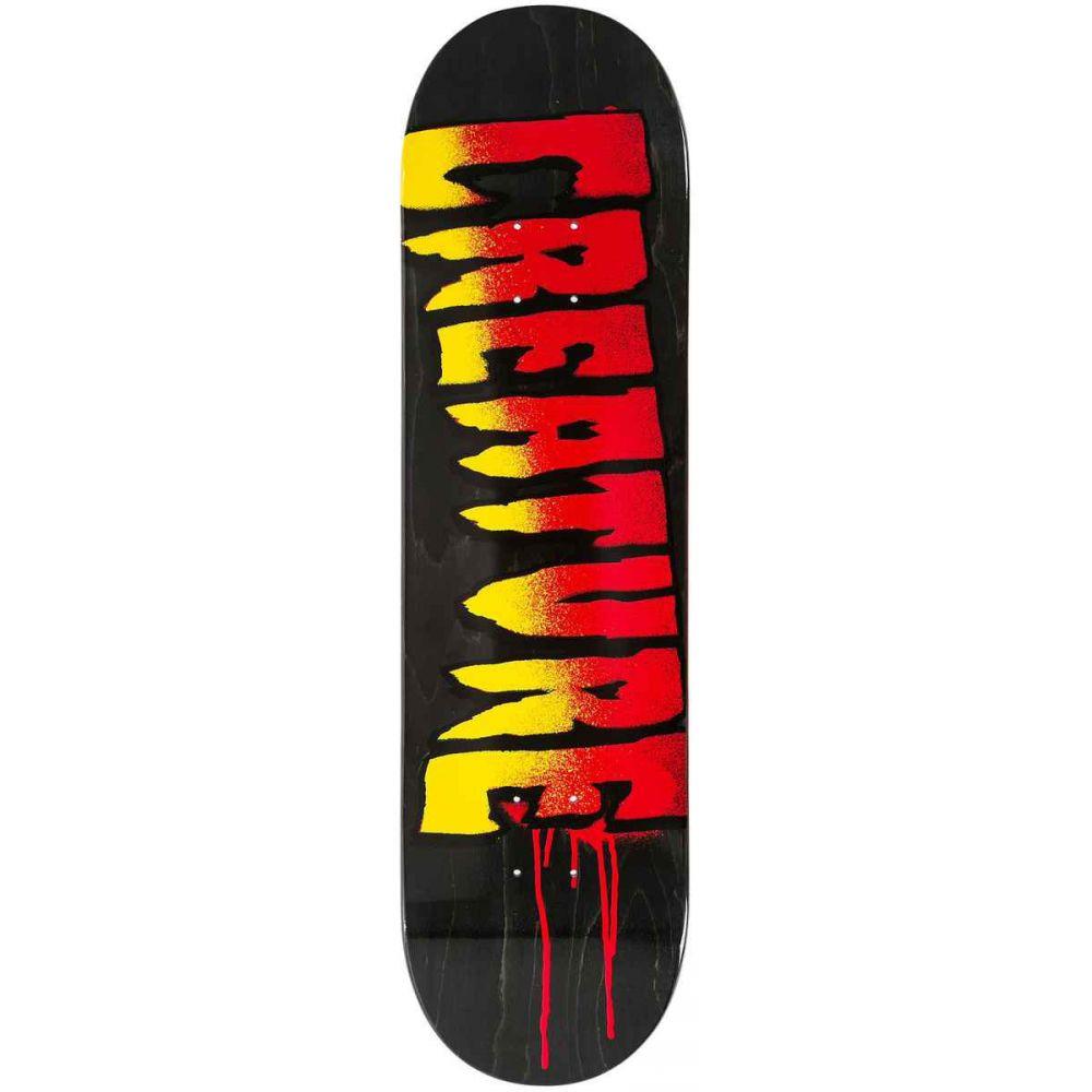 クリエーチャー Creature メンズ スケートボード ボード・板【Skateboard Deck】Black