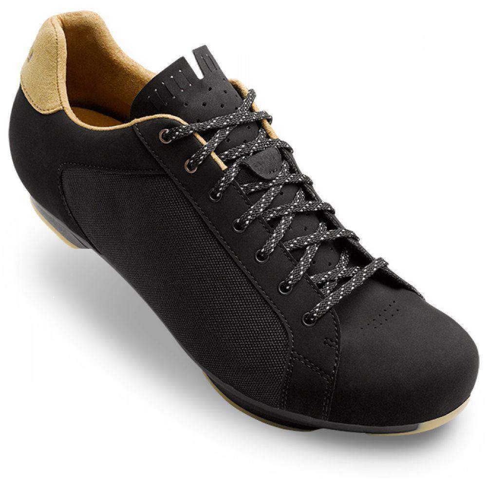 ジロ Giro メンズ 自転車 シューズ・靴【Republic Road Bike Shoes】Black Canvas/Gum