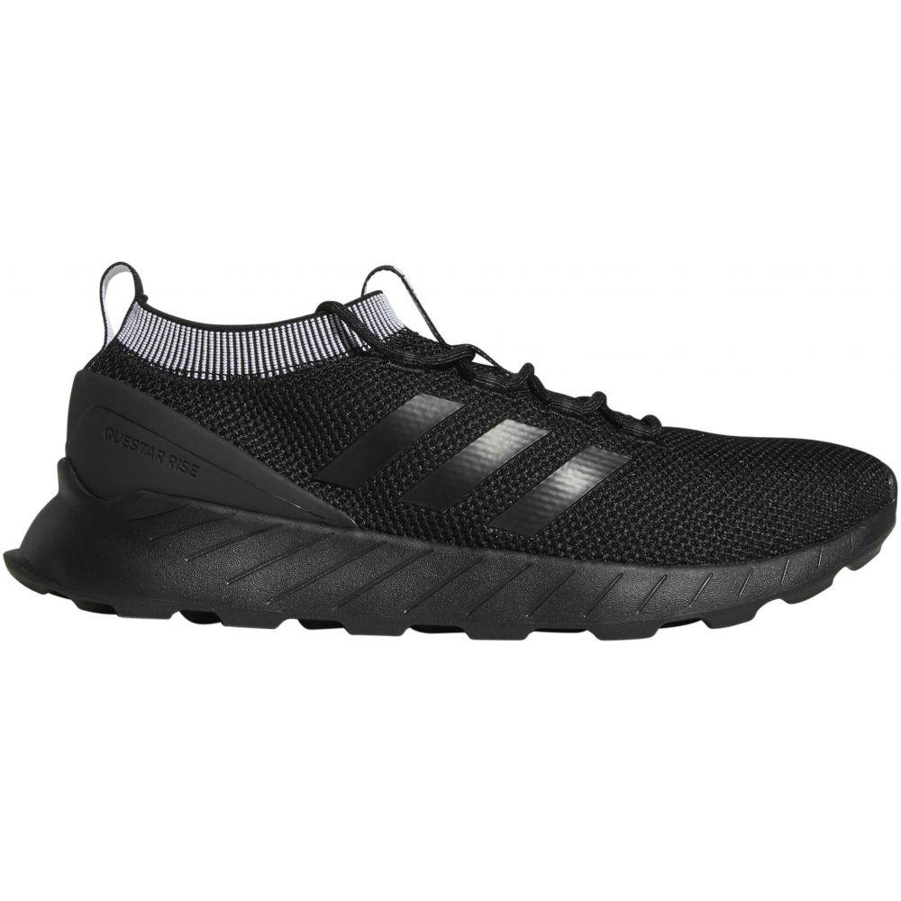 アディダス Adidas メンズ ランニング・ウォーキング シューズ・靴【Questar Rise Trail Running Shoes】Black/Black/Carbon