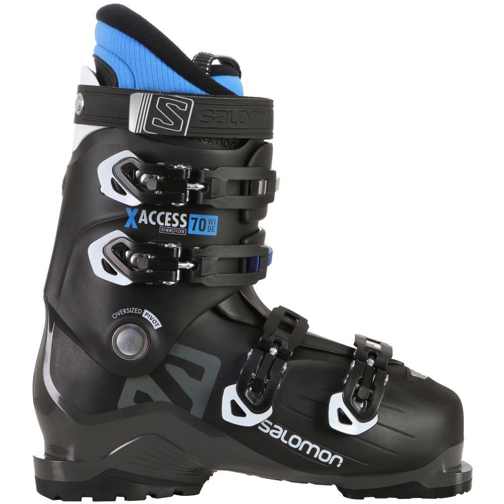 サロモン Salomon メンズ スキー・スノーボード シューズ・靴【X Access 70 Wide Ski Boots 2019】Black/Indigo Blue