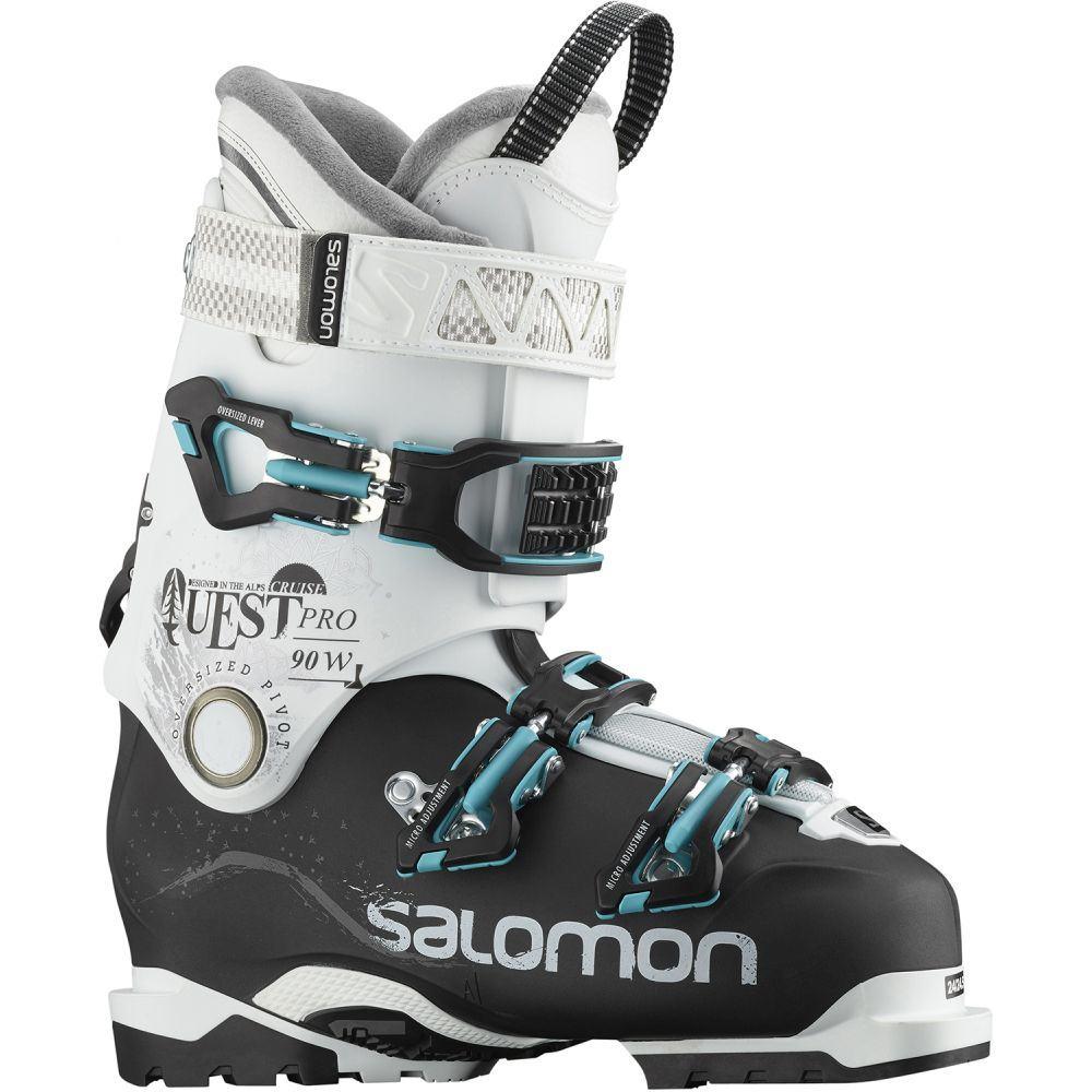 素晴らしい品質 サロモン 90 Salomon Boots レディース スキー・スノーボード レディース シューズ・靴【Quest Pro Cruise 90 Ski Boots 2019】Black/White/Aqua, JEANS FACTORY Online Shop:ab3ec609 --- canoncity.azurewebsites.net