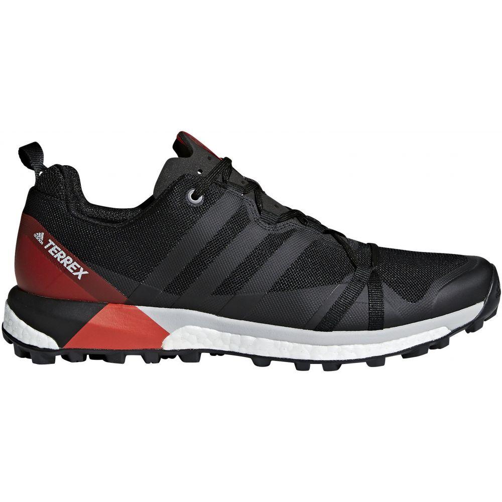 アディダス Adidas メンズ ランニング・ウォーキング シューズ・靴【Terrex Agravic Trail Running Shoes】Black/Carbon/Hi-Res Red