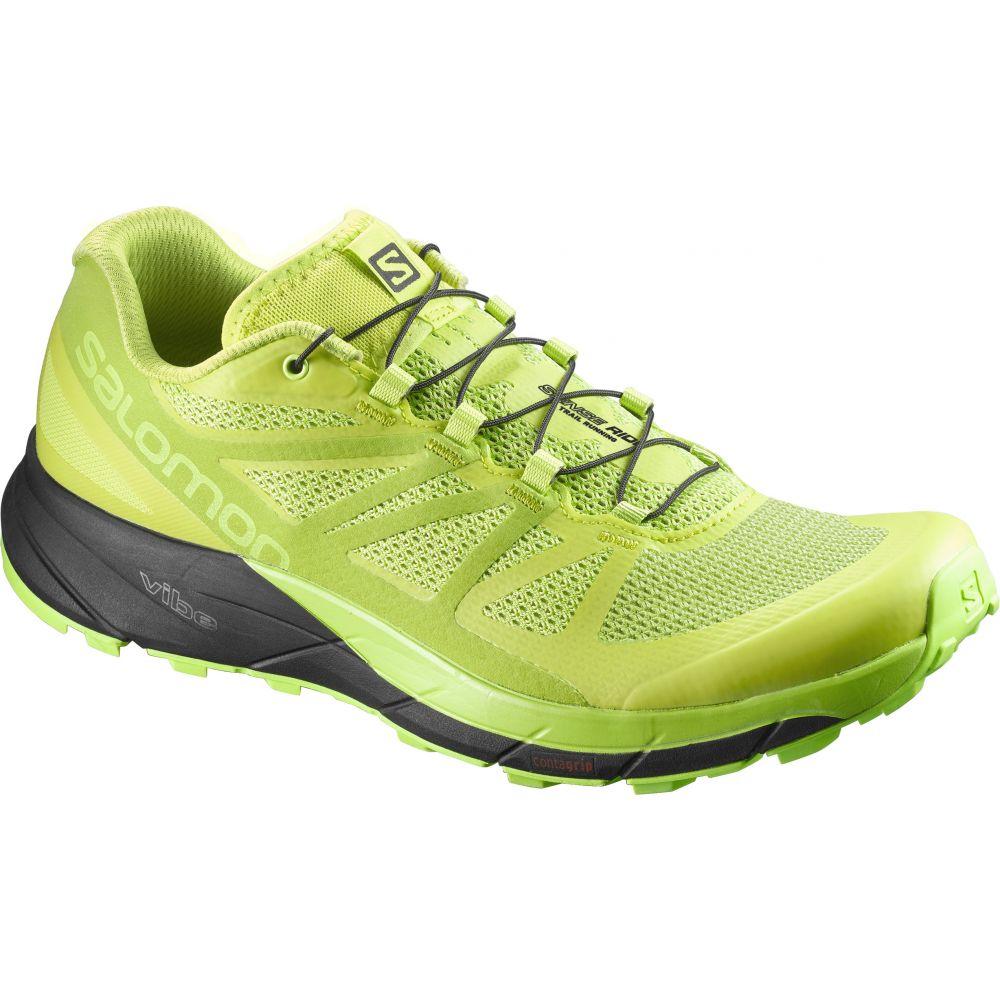 サロモン Salomon メンズ ランニング・ウォーキング シューズ・靴【Sense Ride Trail Running Shoes】Lime Punch/Lime Green/Black
