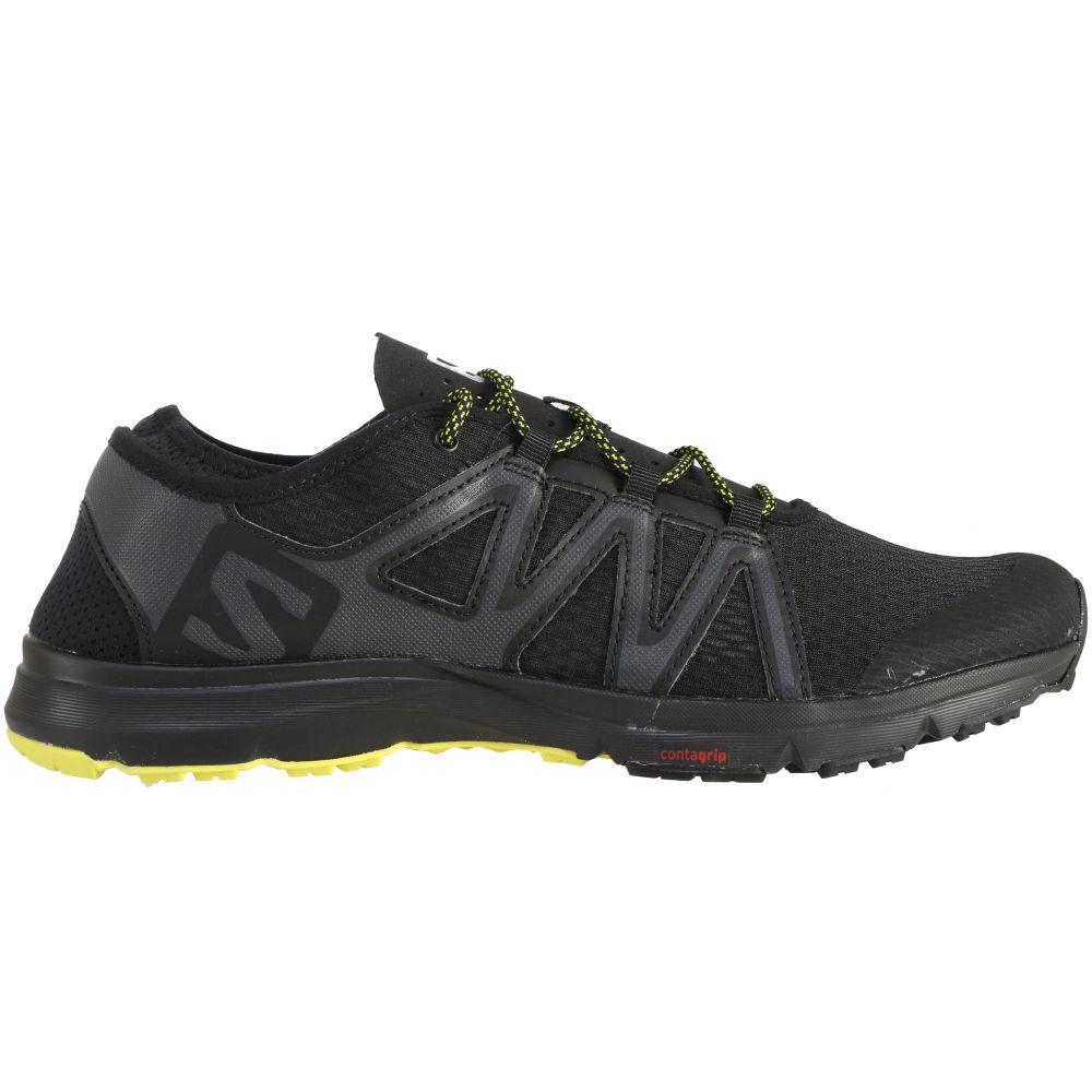 サロモン Salomon メンズ シューズ・靴 ウォーターシューズ【Crossamphibian Swift Water Shoes】Black/Phantom/Sulphur Spring