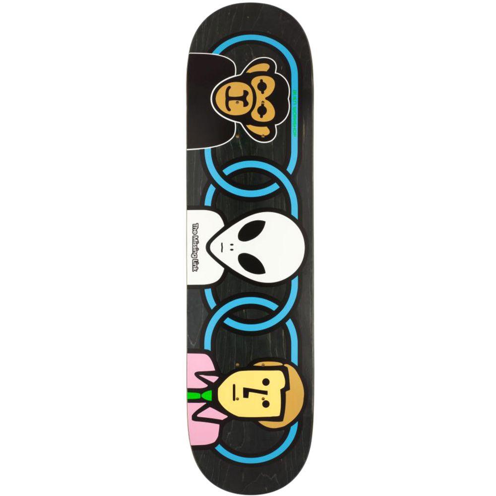 エイリアンワークショップ Alien Workshop メンズ スケートボード ボード・板【Missing Link Skateboard Deck】Assorted